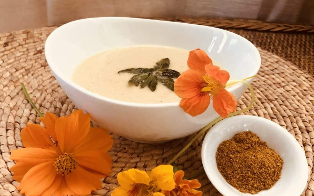 Creamy Cauliflower Fennel Soup