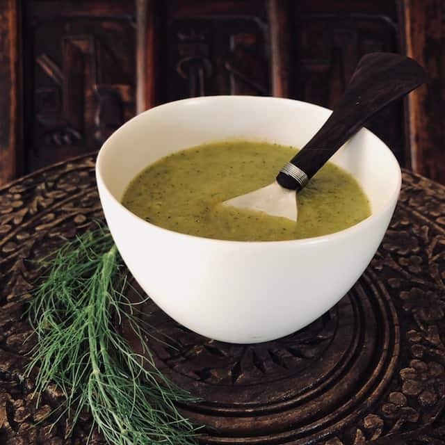 Broccoli Fennel Soup