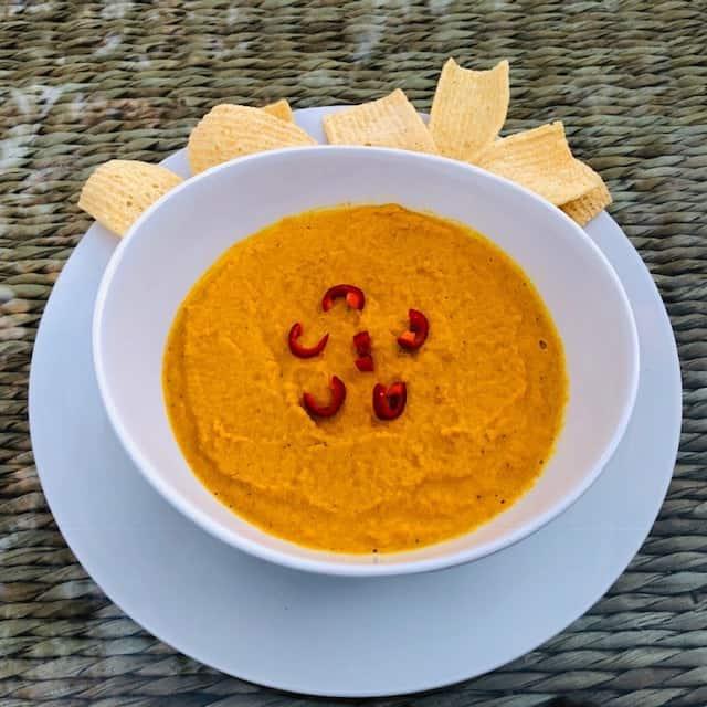 Sumptuous Curry Carrot Dip