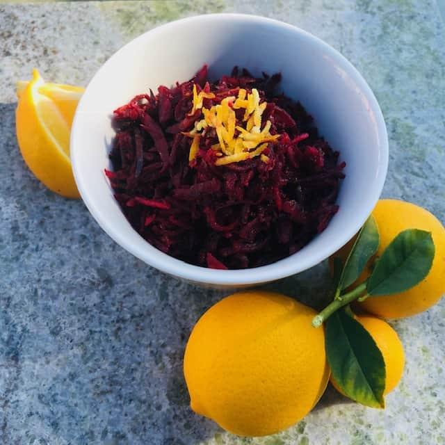 Zesty Seasonal Beet Salad