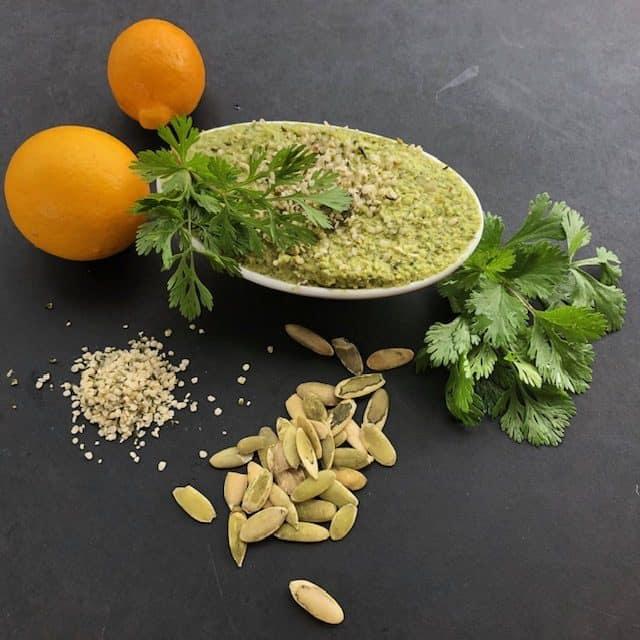 Pumpkin Seed Cilantro Pate