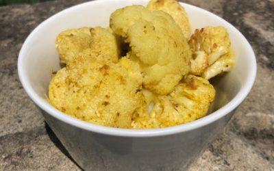 Baked Masala Cauliflower
